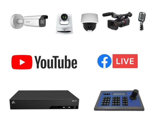 YouTube and Facebook Streaming